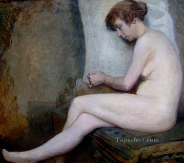 nude naked body Painting - Susanne female body nude Jules Joseph Lefebvre
